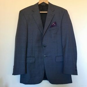 Jos. A. Banks Gray Traveller Suit Jacket (38R)